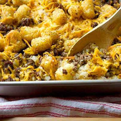 The Best Hillbilly Hamburger Casserole Recipe