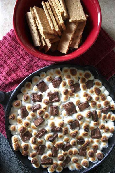 Simple S'mores Dip Recipe