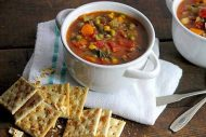 Thick + Hearty Vegetable Soup