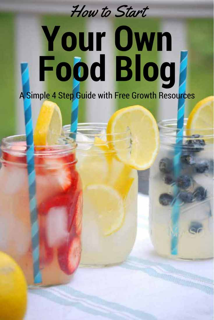Start your own food blog