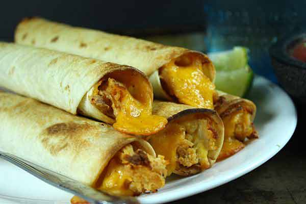 Chicken Ranch Taquitos