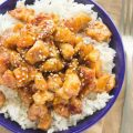 Healthy Honey Sesame Chicken