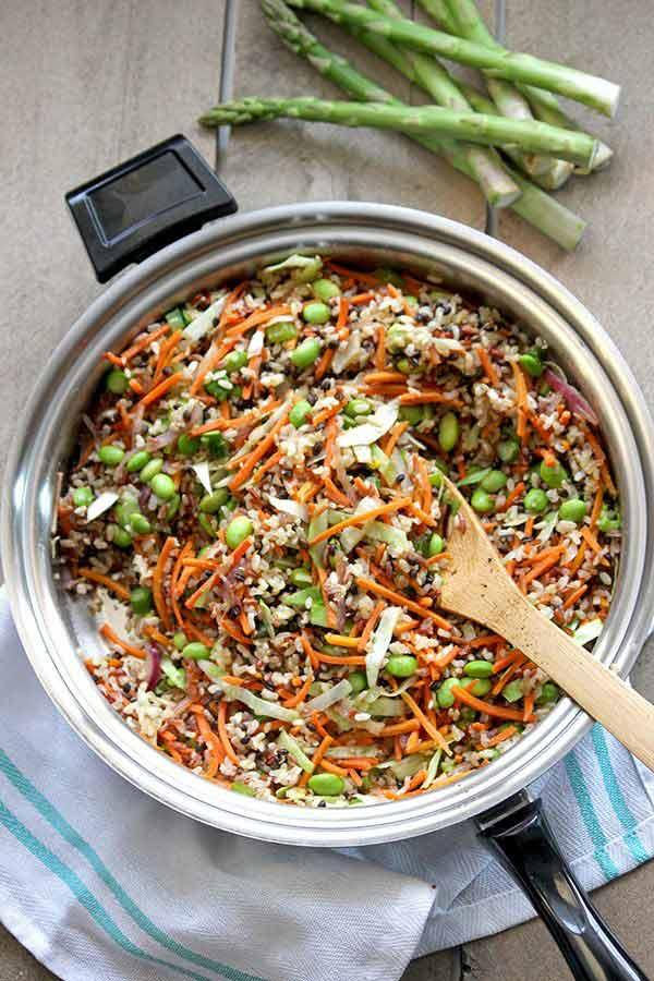 Healthy Stirfry Rice