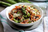 Wild Rice and Vegetable Stir Fry