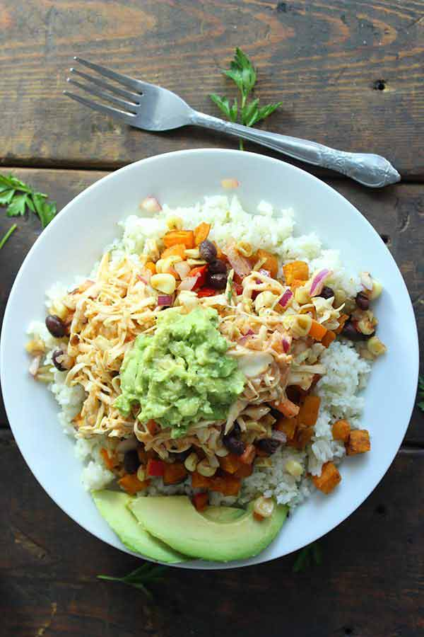 Vegetable and Rice Bowl