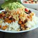 Tex Mex Rice and Veggie Bowl
