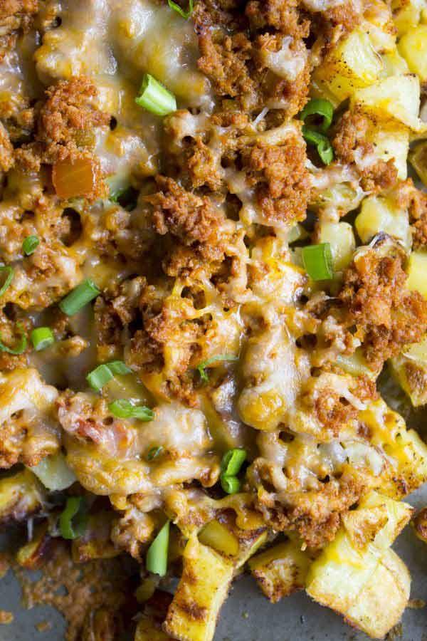 Delicious Taco Potato Meal