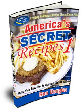 America's Secret Recipes Volume 1