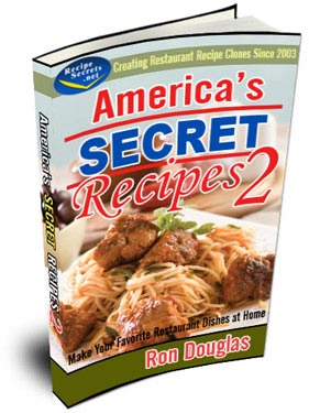 America's Secret Recipes Volume 2