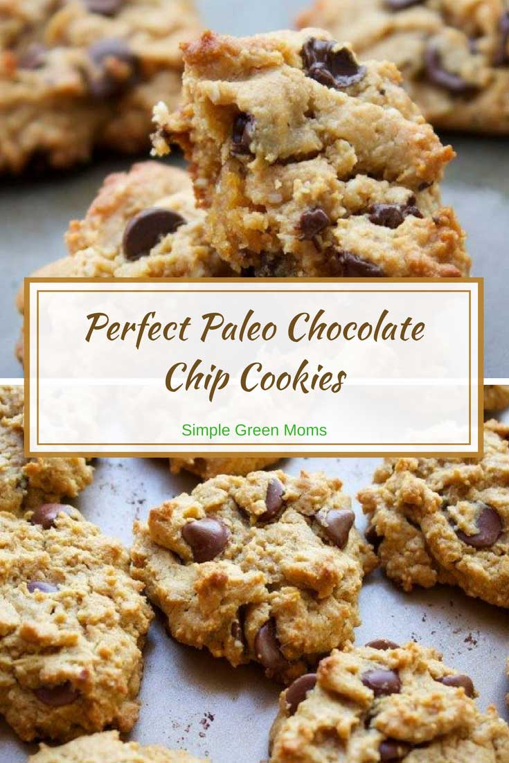 Easy Paleo Chocolate Chip Cookies Recipe