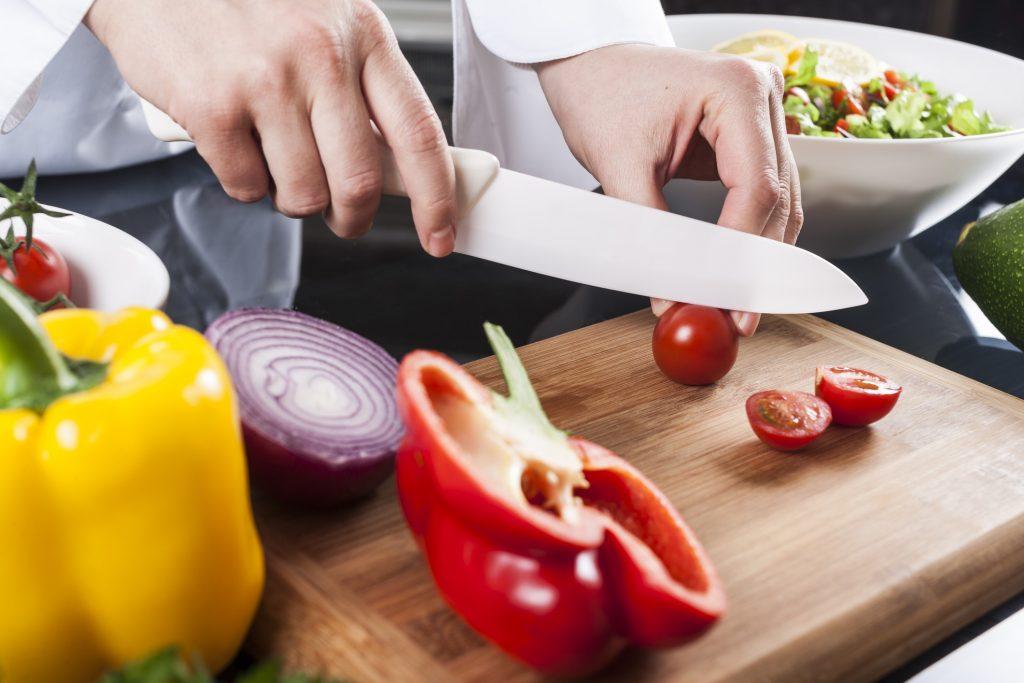 best ceramic kitchen knife in use