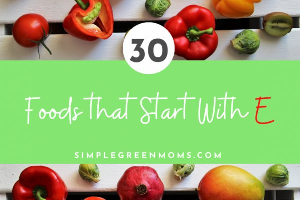 30 Foods that Start With E
