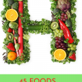 Foods that begin with H