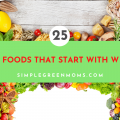 foods that begin with W