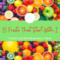 Fruits that start with the letter I
